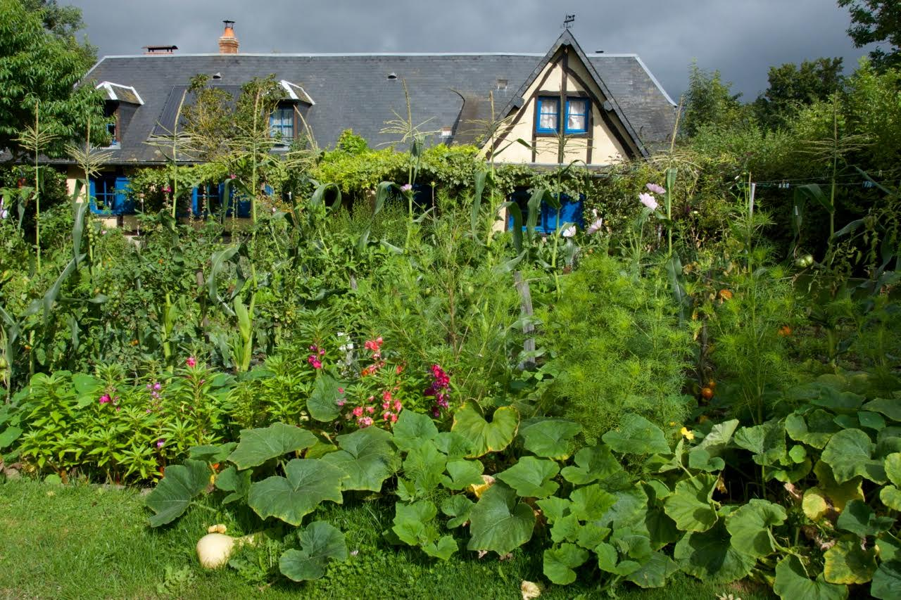 Chaumiere a potager